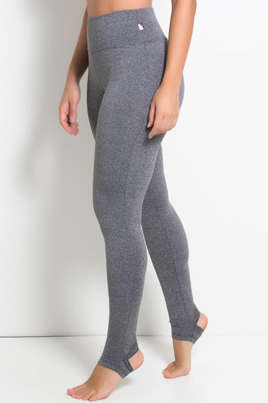 Calça Legging Mescla com Pezinho | Ref: KS-F207