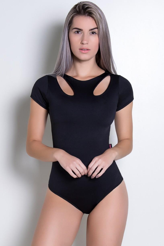 Body Gota Liso (Preto) | Ref: KS-F2242-001