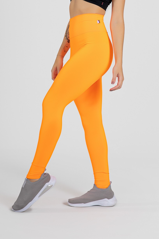 Legging Lisa (Laranja Fluor) | Ref: F23-009