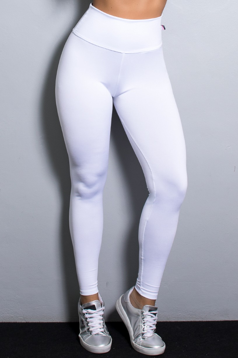 Legging Lisa Suplex Branco | Ref: KS-F23-013