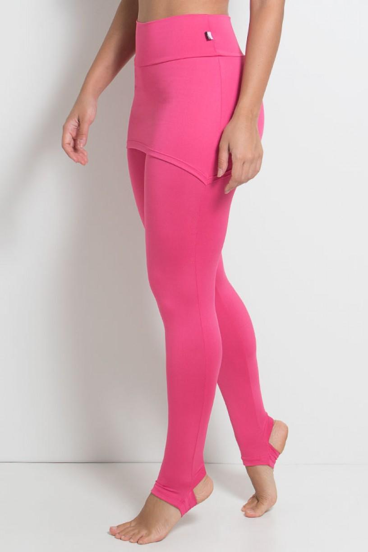 Legging com Tapa Bumbum e Pezinho (Rosa Pink) | Ref: KS-F35-004