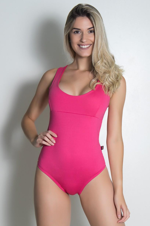 Body Viviane Liso (Rosa Pink) | Ref: KS-F427-002