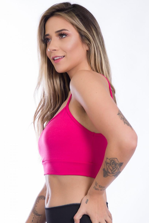 Top de Alcinha (Rosa Pink) | Ref: KS-F611-003