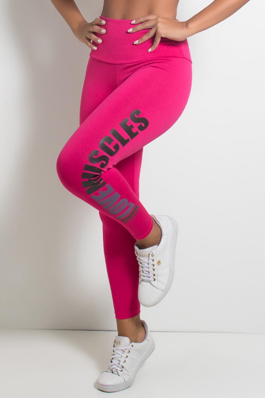 Calça Legging (Love Muscles) | Ref: KS-F618-003