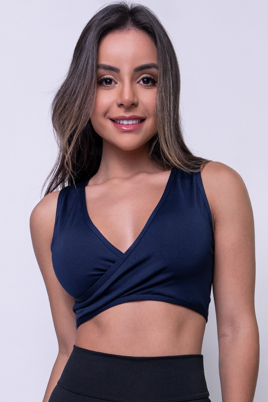 Top Tatiana (Azul Marinho) | Ref: KS-F658-003
