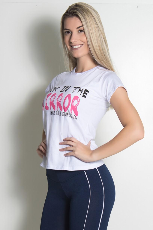 Camiseta Feminina Look In The Mirror | Ref: KS-F702