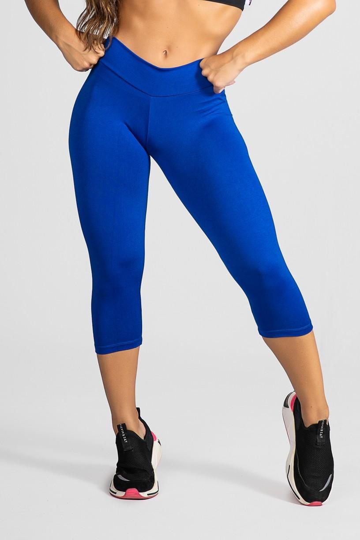 Calça Corsário (Azul Royal) | Ref:F73-009