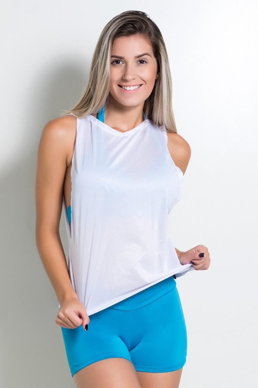 Camiseta Dry Fit Duas Cores | Ref: KS-F815