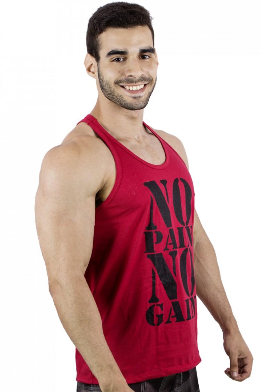 Camiseta Regata (No Pain No Gain) | Ref: F524