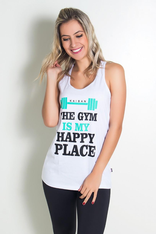 Sobre Legging Renata de Malha Nadador (The Gym is my Happy Place)   Ref: KS-R69