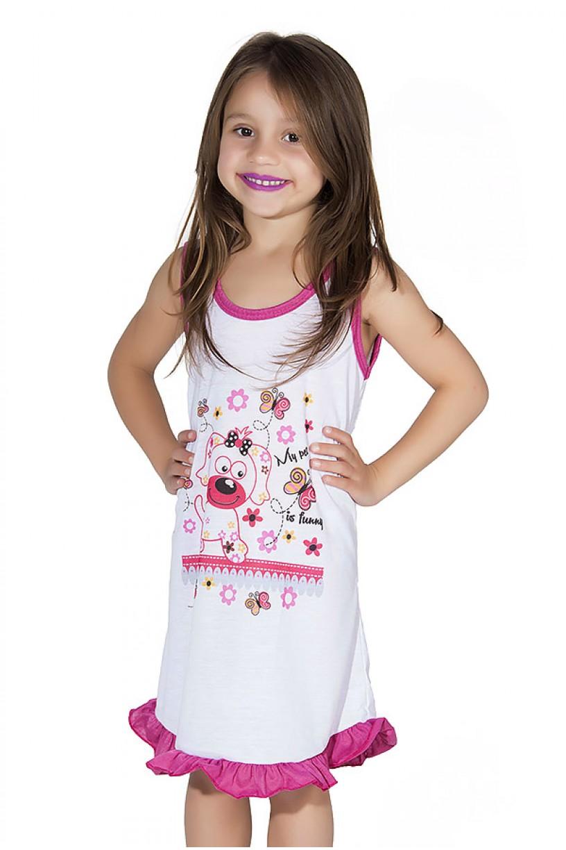 Camisola Infantil 060 (Pink com cachorrinho)