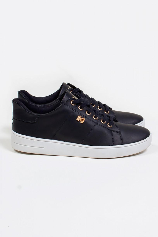 Tênis Mini Sneaker com Cadarço (Preto) | Ref: KS-T42-002