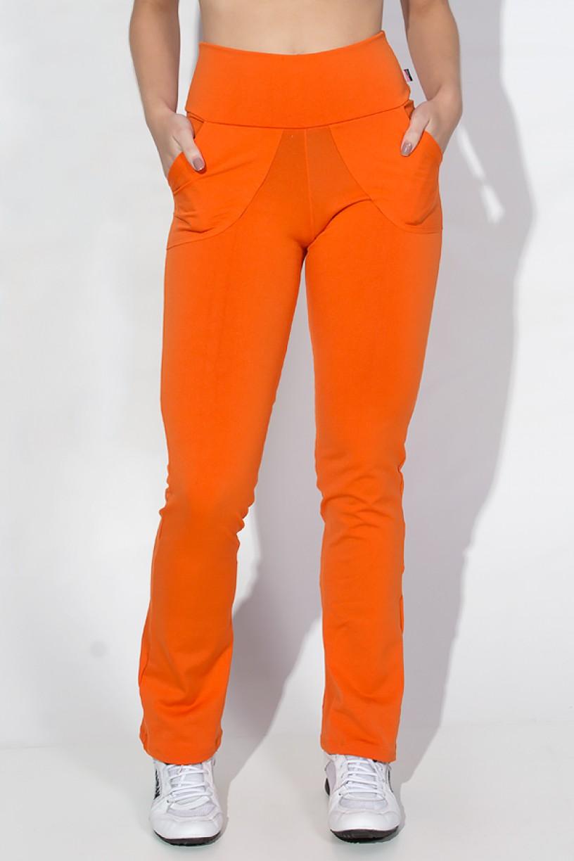 Calça Legging Bailarina Cores Lisas (Laranja) | Ref: KS-F145-004