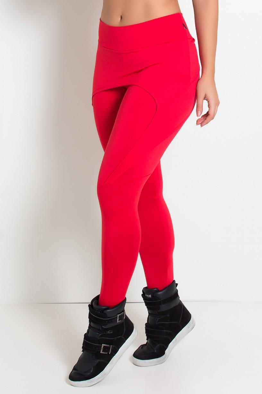 Calça Aranha Suplex (Vermelho) | Ref: KS-F324-002