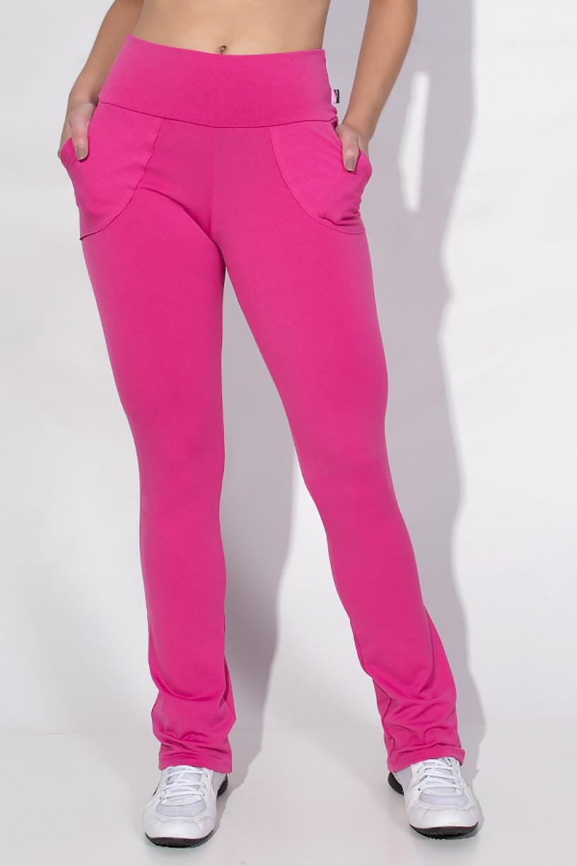 Calça Legging Bailarina Cores Lisas (Rosa) | Ref: KS-F145-005