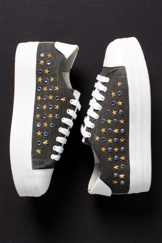 Tênis Bruni Star (Jeans) | Ref: KS-T75-001