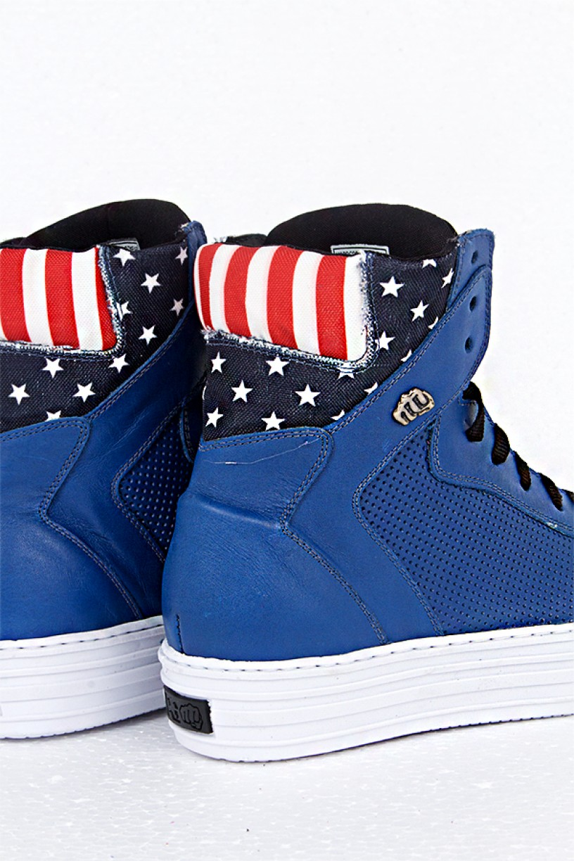 Tênis Gravity Confort Azul USA | Ref: T14