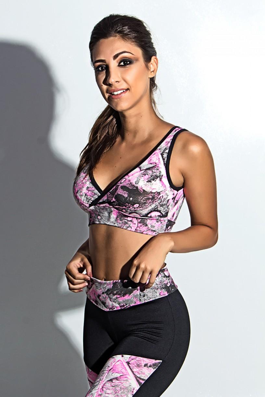 Top Fitness Estampado | Ref: KS-F495