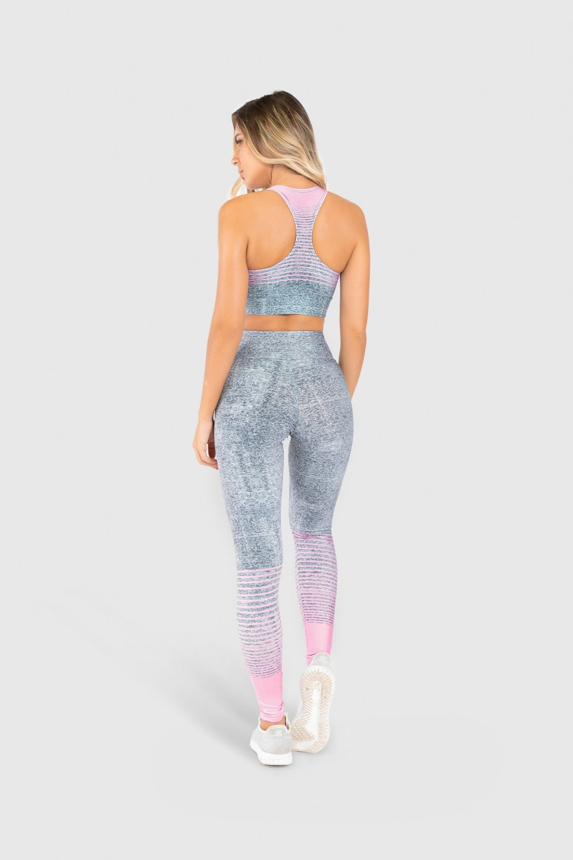 Top Nadador Fitness Estampa Digital Delicate Horizon | Ref: GO307
