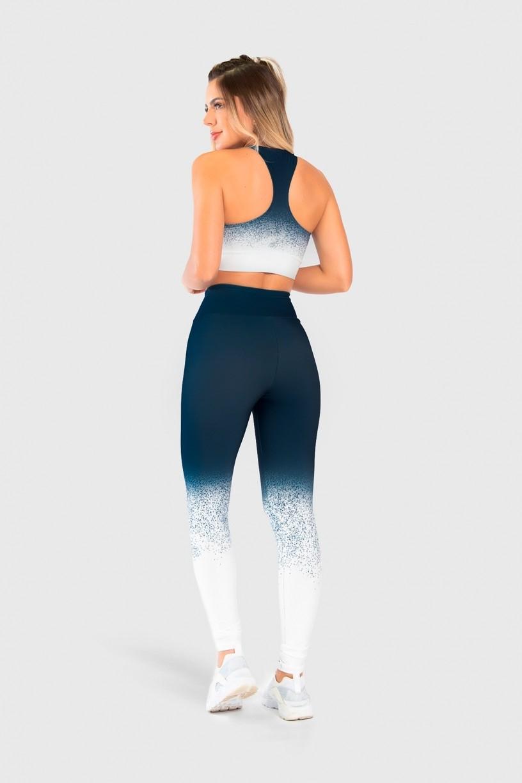 Top Nadador Fitness Estampa Digital Snow Flakes | Ref: GO253
