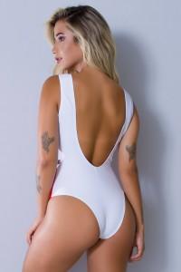 Body Sublimado Cavado nas Costas (Enfermeira) | Ref: BD099-041-002