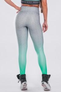 Calça Legging Sublimada Green Fade | Ref: K2297-A