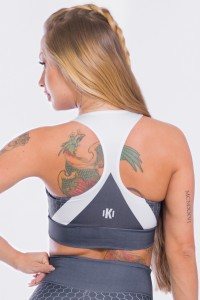 Top Sublimado Gray Honeycomb | Ref: K2474-A