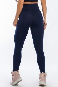 Calça Legging Levanta Bumbum (Azul Marinho)   Ref: K2429-C