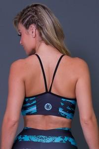 Top Com Alça em V Camo Stripes   Printed: K2650