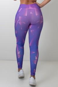 Calça Feminina Legging Sublimada Night Flashes | Ref: CAL417-041