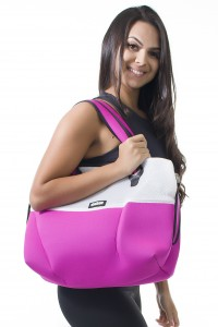 Bolsa London (Rosa Pink / Branco) | Ref: KS-F2001-002