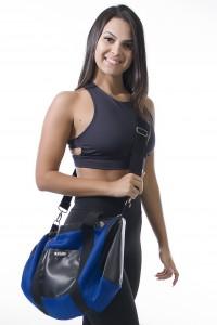 Bolsa Tommy (Azul Royal / Preto) | Ref: KS-F2002-001