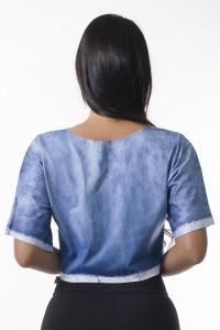 Cropped Jeans Sublimado   Ref: KS-F2123-001