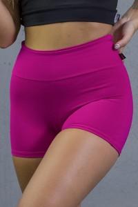 Short Liso Levanta Bumbum   Poliamida Excelente!   (Rosa Pink)   Ref: KS-PL06-001