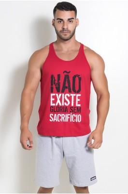 KS-F519-003_Camiseta_Regata_Nao_Existe_Gloria_Sem_Sacrificio_Vermelho__Ref:_KS-F519-003
