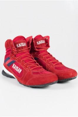 Tênis Cano Médio Unissex (Vermelho) | Ref: KS-T21