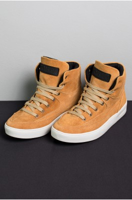 Sneaker Camurça (Mostarda) | Ref: KS-T52-004