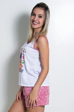 Babydoll Feminino 228 (Pink) - AB
