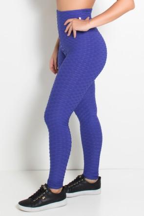 Calça Legging Tecido Bolha (Violeta) | Ref: KS-F103-006