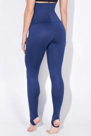 Calça Mirella Modeladora com Pezinho (Azul Marinho) | Ref: KS-F215-003