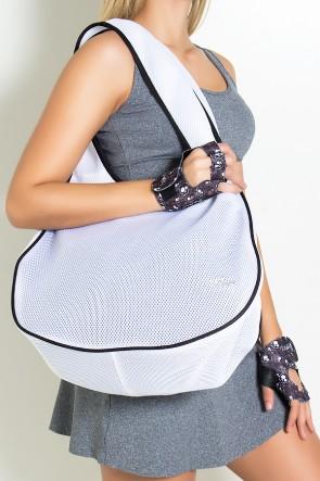 Bolsa Fitness Branca | Ref: KS-F781-007