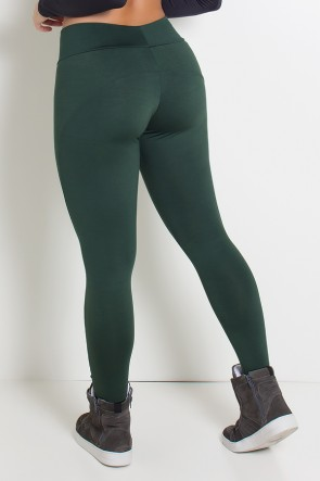 Calça Montaria  (Verde Escuro) | Ref: KS-F41-007