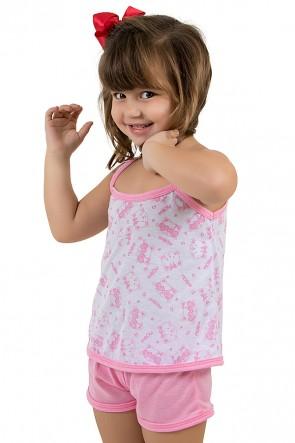 Babydoll Infantil 086 (Rosa) | Ref: CEZ-PA086-001