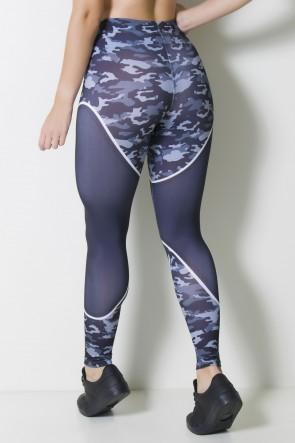 Calça Legging Sublimada Camo Carbon  | Ref: CAL354-041