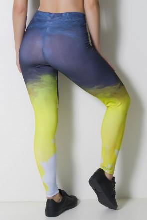 Calça Legging Sublimada Color Smoke   Ref: CAL370-041