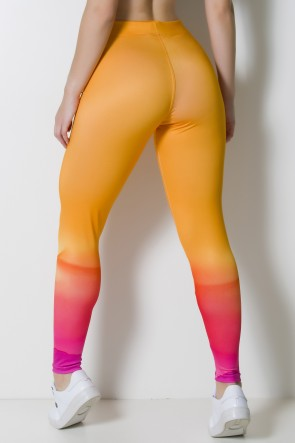 Calça Legging Sublimada Paint Art | Ref: CAL374-041