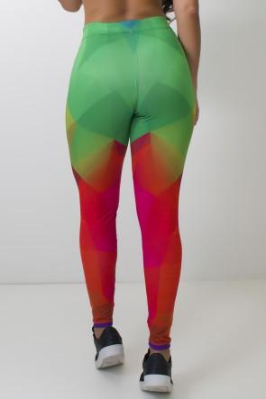 Calça Feminina Legging Sublimada Frty Color | Ref: CAL380