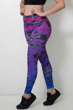 Calça Feminina Legging Sublimada Camo Tint | Ref: CAL383-041