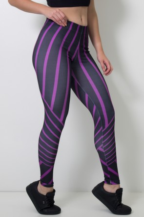 Calça Feminina Legging Sublimada Shape Mark | Ref: CAL396-041