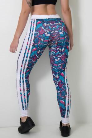Calça Feminina Legging Sublimada Colorsheets   Ref: CAL408-041